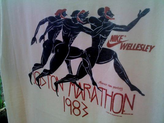 Vintage Nike wellesley boston marathon