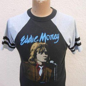 1982 Eddie Money Raglan Concert Shirt