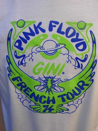 Pink Floyd European Tour 1974 Shirt