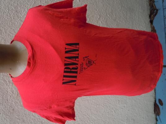 Nirvana 1990 Corn Poop Concert Shirt