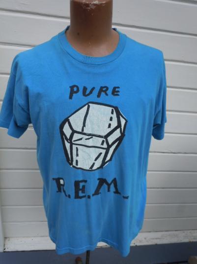 Rare R.E.M. 1980s Promo Pure Shirt
