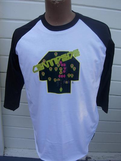 Dated 1982 Atari Centipede Shirt (Very Rare)