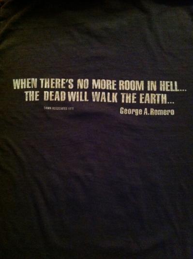 Dawn of the Dead Promo T-Shirt