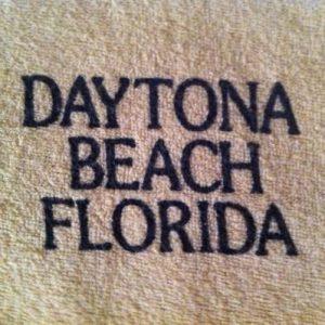 Vintage Terrycloth Daytona Beach T-Shirt