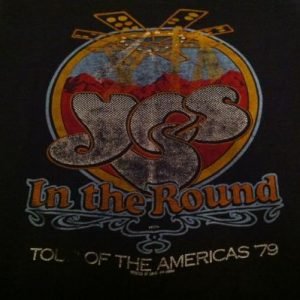 YES - In the Round Tour - 1979