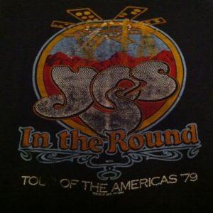 Vintage YES Tour T-Shirt - 1979