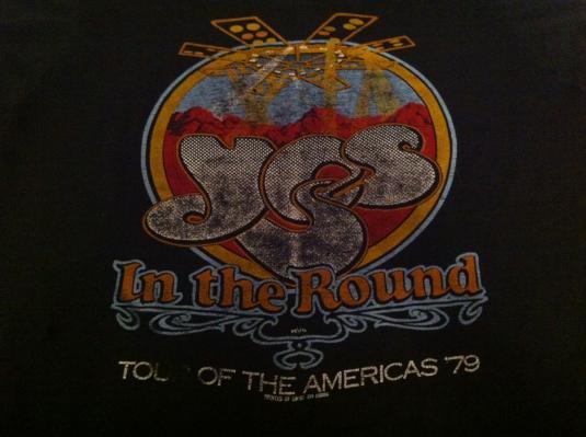 Vintage YES Tour T-Shirt – 1979