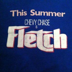 Vintage Fletch Movie Promo T-Shirt - 1985