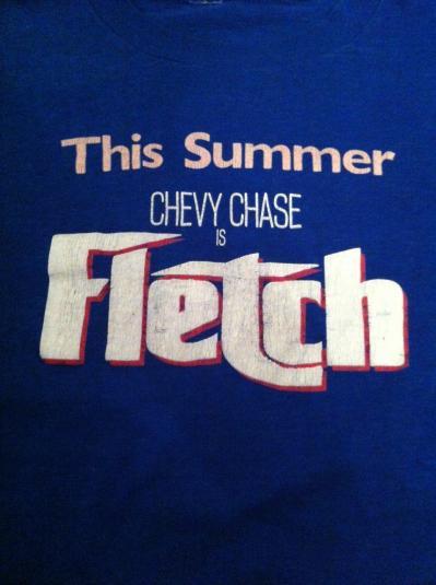 Vintage Fletch Movie Promo T-Shirt – 1985