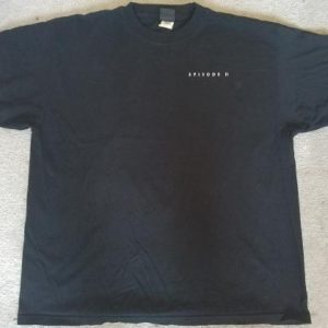 Star Wars Ep2 LucasFilm Employee Shirt 2002