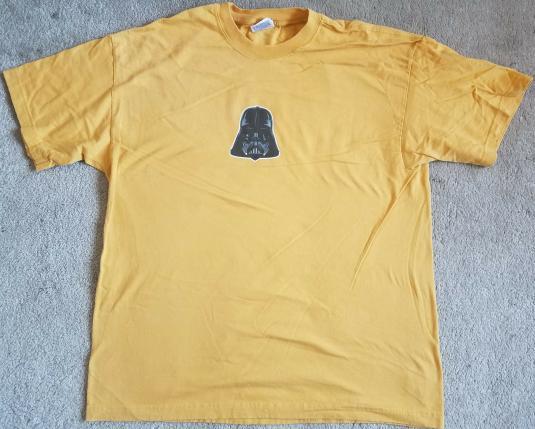 Star Wars ILM VFX Crew Shirt Darth Vader Head 2004