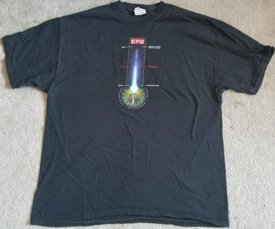 Star Wars Ep2 ILM VFX Crew Shirt Production Thermometer