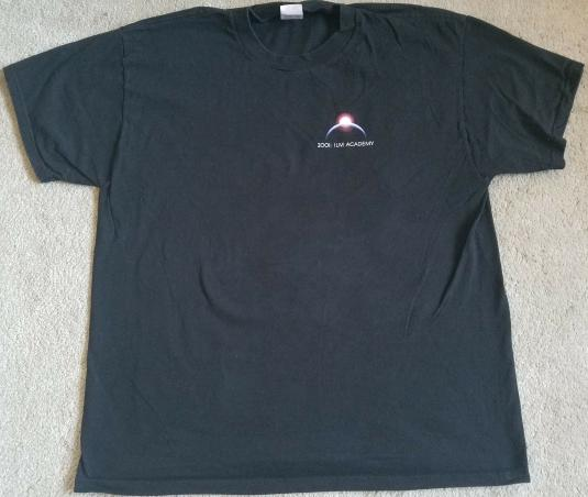 ILM VFX Academy Crew Shirt Production Year 2001