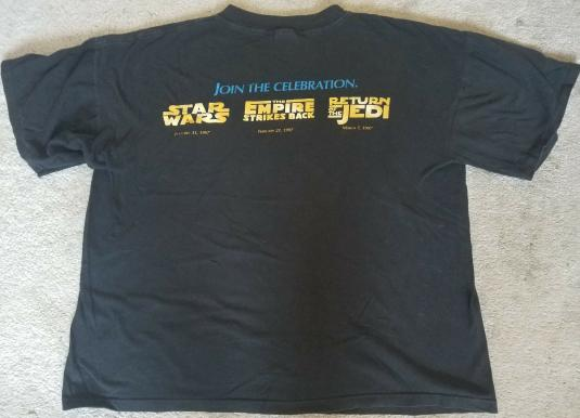 Star Wars Trilogy Special Edition Crew Shirt 1997