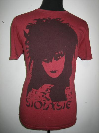 Vintage SIOUXSIE t-shirt with screen star label