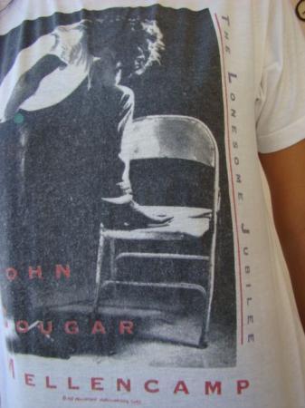 VTG 1987 JOHN MELLENCAMP LONESOME JUBILEE CANADIAN TOUR T