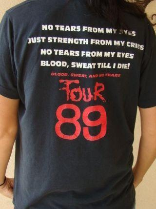 RARE ORIGINAL VINTAGE SICK OF IT ALL 1989 BLOOD SWEAT NO TEA