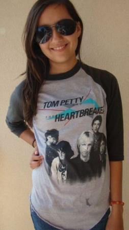 VTG 1983 TOM PETTY HEART BREAKERS LONG AFTER DARK TOUR T