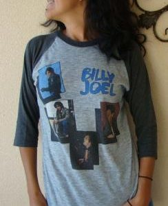 """BILLY JOEL """"FROM A PIANO MAN TO AN INNOCENT MAN"""" 1984 TOUR J"""