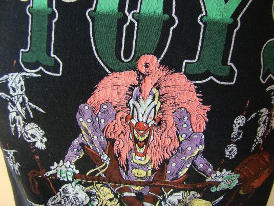 VINTAGE 1989 DANGEROUS TOYS TOUR T SHIRT