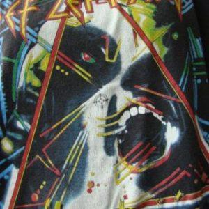 RARE ORIGINAL 1987 DEF LEPPARD PRE TOUR NO DATES HYSTER