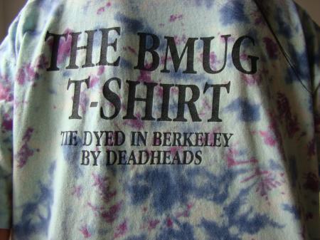 VERY RARE 1989 DEBUT DEAD HEAD Berkeley Mac User GroupBMUG