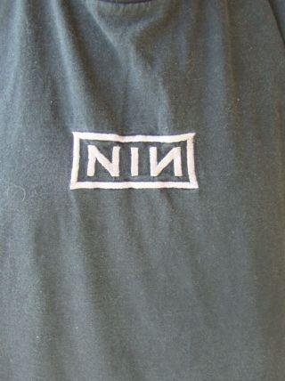 VINTAGE 1994 NIN NINE INCH NAILS DOWNWARD SPIRAL T SHIRT