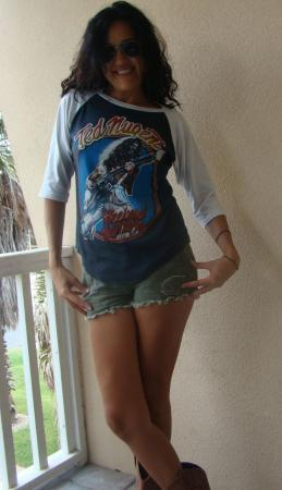VINTAGE ORG '79 TED NUGENT WEEKEND WARRIORS TOUR JERSEY T
