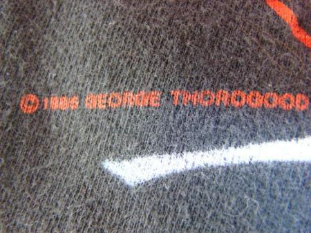 1985 GEORGE THOROGOOD THE DESTROYERS MAVERICK TOUR T