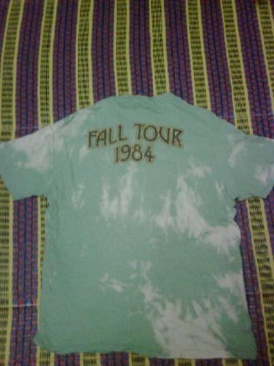 VINTAGE 1984 GRATEFUL DEAD FALL TOUR
