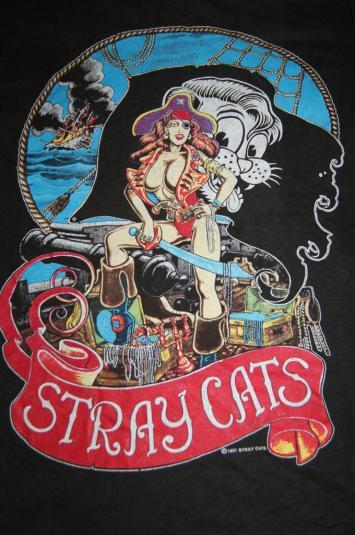 vintage stray cats