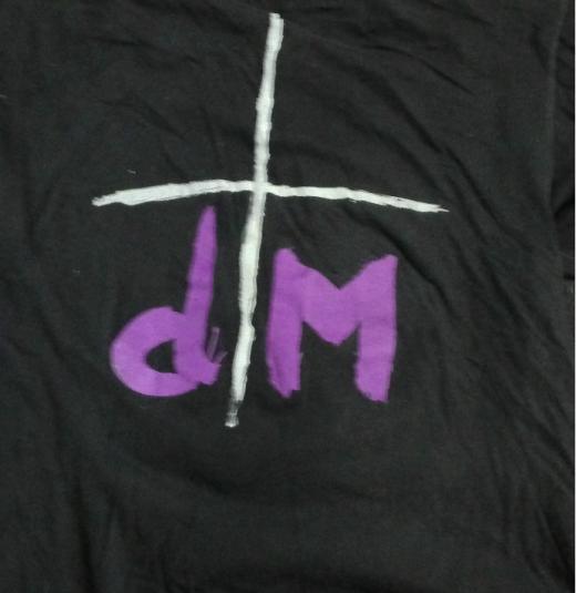 1993 Depeche Mode – Devotional Tour Vintage T-shirt
