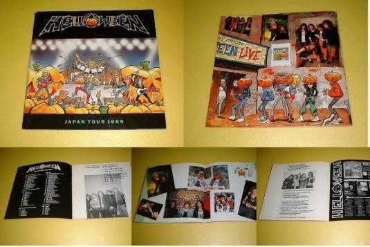 VTG HELLOWEEN LIVE IN JAPAN 89/90