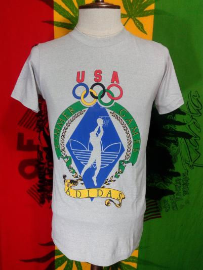 Vintage Adidas Olympic 1984 Made in USA