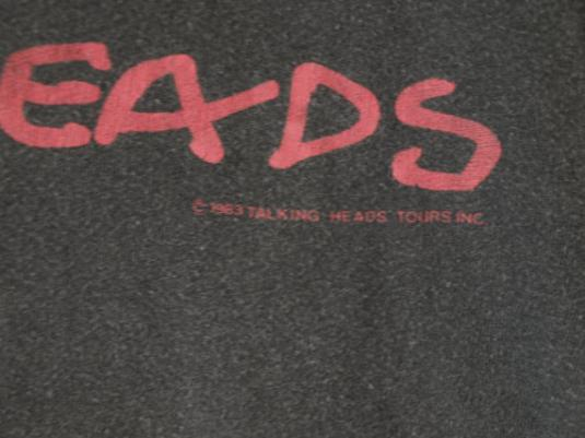 1983 Talking Heads 'Speaking In Tongues' Sleeveless Shirt