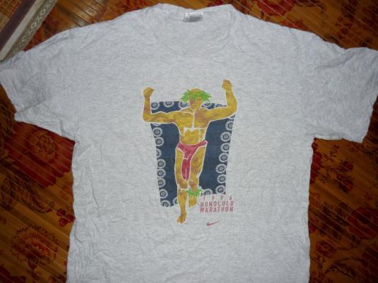 vintage nike marathon honolulu 1996