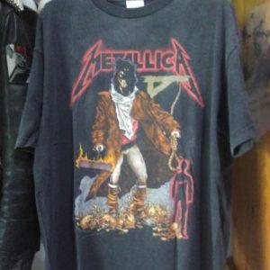 Metallica 1994 The Unforgiven T shirt