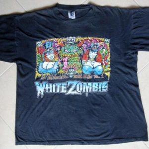White Zombie 1993 La Sexorcisto World Tour GEM Made in USA