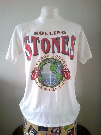 Vintage Rolling Stones 1994 Voodoo Lounge Brockum USA L