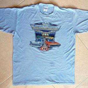 Vintage 70s Cruisin' American Muscle A&W GILDAN 50/50 L