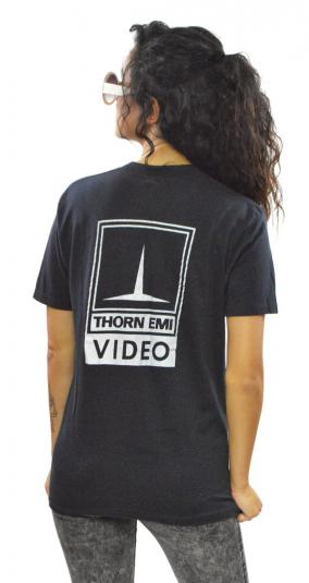Vintage 80s Duran Duran Thorn EMI Video Promo T Shirt Sz L