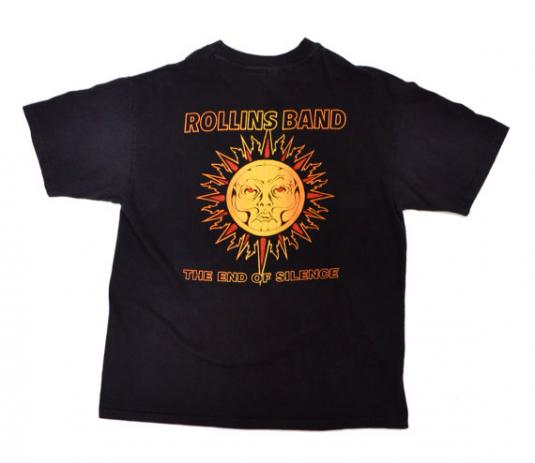 Vintage 90s Rollins Band The End of Silence T Shirt