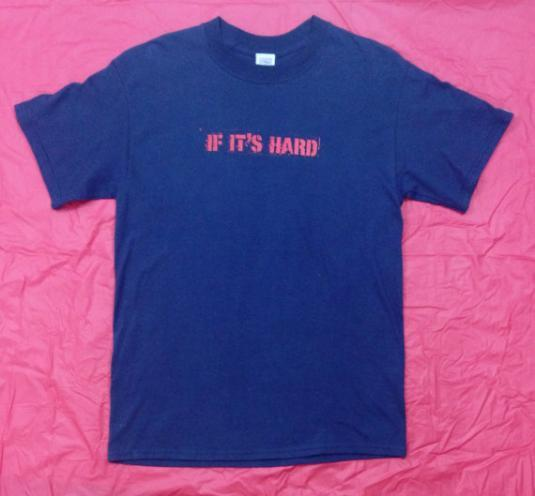Vintage 80s VISION STREET WEAR If It's Hard Grind It T Shirt