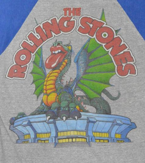 Vintage 80s The Rolling Stones Philadelphia Sold Out Jersey