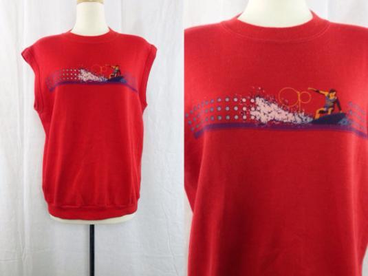 Vintage 80s Op OCEAN PACIFIC Surfer Radical Muscle Sweater
