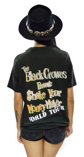 Vintage 90s The Black Crowes Shake Your Money Maker Tour T S
