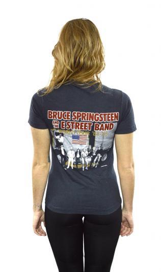 Vintage 80s BRUCE SPRINGSTEEN World Tour T Shirt Sz S