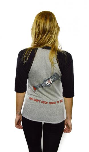 Vintage 80s Twisted Sister You Can't Stop Rock 'N' Roll Tee