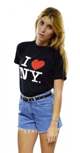 Vintage 80s I Love NY New York City Jerzees 50/50 T Shirt