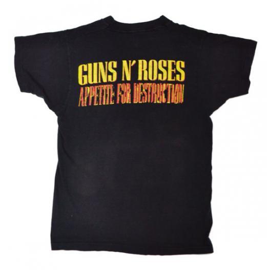 Vintage 80s Guns N' Roses Appetite For Destruction Group Pho